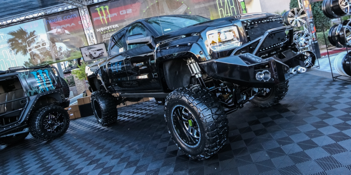 SEMA, RZR, duramax, chevy, silverado, 1500, crew cab, superduty, gmc, toyota, tundra, tacoma, dodge, ram, 1500, 2500, 3500, mega cab, dually, Ford, F150, f250, f350, f450, Conversion, Axles, Toyo, Nitto, Open Country, offroad, overland, bugout vehicle, Beadlock Wheels, Front Bumper, Side Armor, System, winch, LED Headlights, lift, lifted,  Suspension System,  Driveshafts, fenders, fender flares, Snorkel, Roof Rack, Flat Fenders, Grill, swap, kit, rock crawling, LED, light bar, lift kit, lockers, e-lockers, air lockers, drive shaft, gear, shocks, engine swap, custom, customized, camping, rig, exhaust, tires, wheels, Suspension, powder coated, semi, concave, guards, grille,  two-tone, interior, leather interior, body kit, sound, audio, tires, starwood, motors, corner guards, electric side step, vented hood, hood, recovery, halo lights, accents, tweeters, subs, subwoofers, off-roading, off-road, aftermarket, drivetrain, locking differentials, built, traction, clearance, articulation, compressor, moab, billet, leaf springs, springs, piston, transmission, diesel, mall crawler, 4wd, four wheel drive, 2x4, cummins, tow, towing, tow hooks, roll cage, Air Ride Suspension,  semi, arm, air locker, are, stock, chip, super chip, torque, lifted, leveled, lftdxlvld