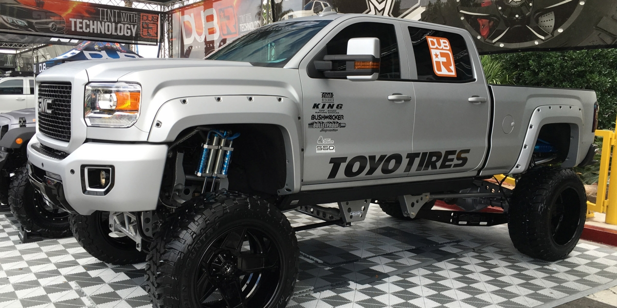 SEMA, RZR, duramax, chevy, silverado, 1500, crew cab, superduty, gmc, toyota, tundra, tacoma, dodge, ram, 1500, 2500, 3500, mega cab, dually, Ford, F150, f250, f350, f450, Conversion, Axles, Toyo, Nitto, Open Country, offroad, overland, bugout vehicle, Beadlock Wheels, Front Bumper, Side Armor, System, winch, LED Headlights, lift, lifted,  Suspension System,  Driveshafts, fenders, fender flares, Snorkel, Roof Rack, Flat Fenders, Grill, swap, kit, rock crawling, LED, light bar, lift kit, lockers, e-lockers, air lockers, drive shaft, gear, shocks, engine swap, custom, customized, camping, rig, exhaust, tires, wheels, Suspension, powder coated, semi, concave, guards, grille,  two-tone, interior, leather interior, body kit, sound, audio, tires, starwood, motors, corner guards, electric side step, vented hood, hood, recovery, halo lights, accents, tweeters, subs, subwoofers, off-roading, off-road, aftermarket, drivetrain, locking differentials, built, traction, clearance, articulation, compressor, moab, billet, leaf springs, springs, piston, transmission, diesel, mall crawler, 4wd, four wheel drive, 2x4, cummins, tow, towing, tow hooks, roll cage, Air Ride Suspension,  semi, arm, air locker, are, stock, chip, super chip, torque,
